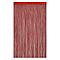 Rideau de fils Colours Defil' rouge 110 x 240 cm