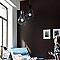 Suspension COLOURS Taiyo noir Ø32 x h.100 cm