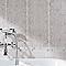 Carrelage mur rose 24 x 55 cm Fantaisie