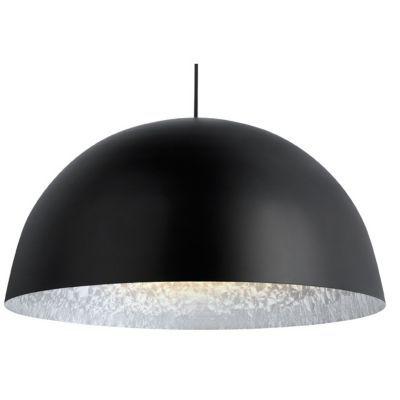 Suspension COLOURS Kapsel noir silver Ø45 x h.22 cm