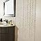 Carrelage mur crème 34 x 56 cm Miluvia