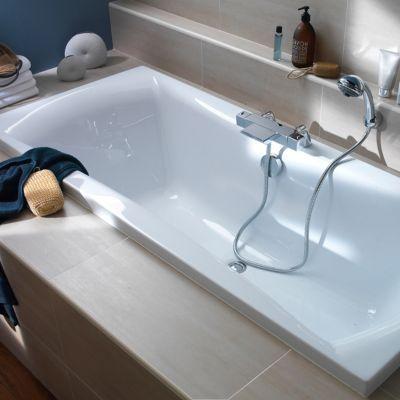 baignoire 170 x 75 cm kleopatra castorama. Black Bedroom Furniture Sets. Home Design Ideas