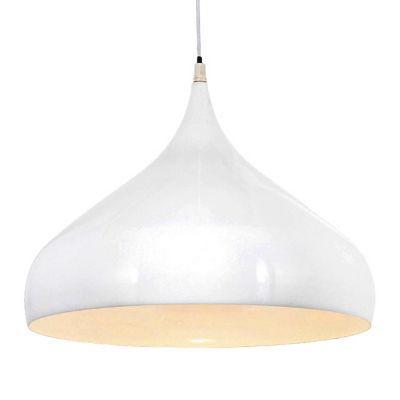 Suspension COLOURS Kasei blanc Ø42 x h.29,5 cm