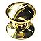 Bouton de meuble métal COLOURS Scala doré brillant Ø32 mm