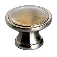 Bouton de meuble métal COLOURS Arius antic silver Ø31 mm