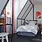 Ensemble barre à rideaux extensible COLOURS Mikio blanc 120/210 cm