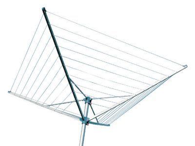 Séchoir parapluie à hauteur réglable 60m DIALL