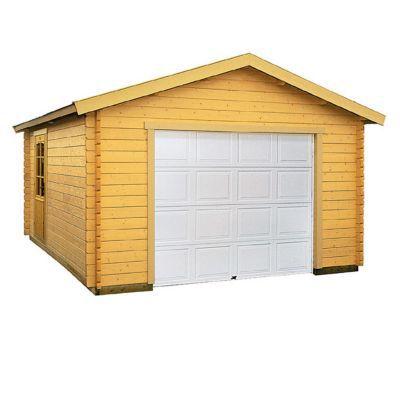 garage bois blooma suomi 19 09 m castorama. Black Bedroom Furniture Sets. Home Design Ideas