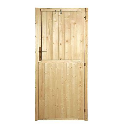 Volet Exterieur De Porte Pour Abri De Jardin Bois Luoman New Vaasa Castorama