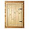 Volet de fenêtre pour abri de jardin bois LUOMAN 89 x 87 cm