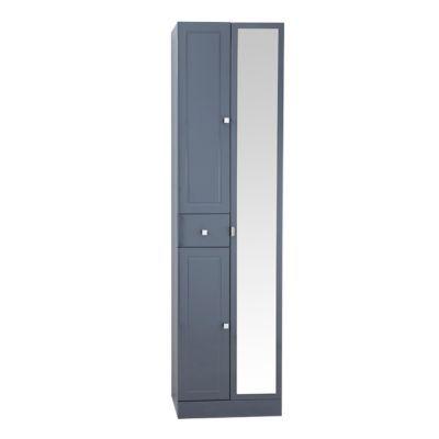 colonne de salle de bains gris cooke lewis atrato 50 cm. Black Bedroom Furniture Sets. Home Design Ideas