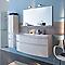 Colonne de salle de bains blanc Cooke & Lewis Nile 30 cm