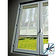 Moustiquaire de fenêtre en PVC blanc 125 x h.150 cm