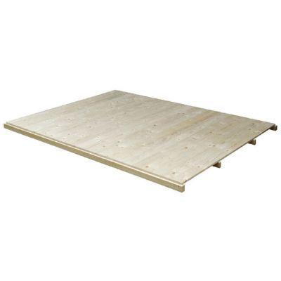Plancher pour abri de jardin bois LUOMAN Loviisa et Djudy