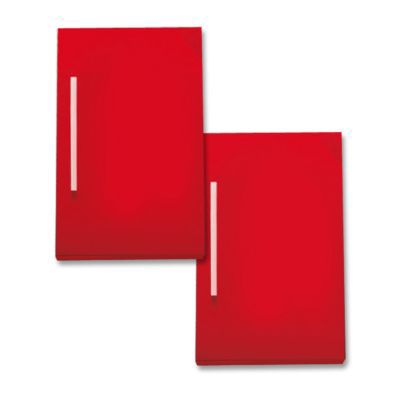 2 façades de colonne Volga rouge. Matière : MDF laqué, épaisseur 18 mm. Dimensions : L.30 x p.1,8 x h.50 cm. Coloris : Rouge. A monter soi-même. Mentions Legales : Le prix de certains produits inclut le coût de recyclage des déchets d'ameublement par l'éc
