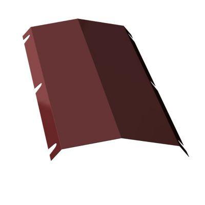 Faîtière double pour plaque Alizé et Alizé + rouge 8012. Utilisation : La faîtière est une tuile courbe recouvrant le faîtage, pour les couvertures en plaques acier Alizé et Alizé + rouge 8012. Dimensions : 100 x 31,5 cm. Epaisseur 63/100 ème.