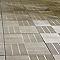 Dalle recyclée marron 40 x 40 cm