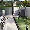 Portail Jardimat aluminium Valois gris 7016 sablé - 300 x h.160 cm