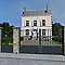 Portillon aluminium Velizy gris 7016 sablé - 100 x h.180 cm