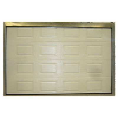 Porte de garage sectionnelle cassettes blanche paris l for Porte de garage sectionnelle 220 x 200