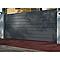 Portail aluminium Samson gris 7016 sablé - 350 x h.143 cm