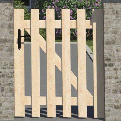 Portillon bois Meribel - 100 x h.120 cm | Castorama