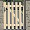 Portillon bois Meribel - 100 x h.120 cm