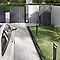 Portail Jardimat aluminium Valois gris 7016 sablé - 300 x h.180 cm