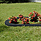 Bordure pavé courbé béton noir 50 x 11,5 cm