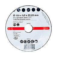 5 disques pour la découpe des matériaux Ø125 x 3 1ER PRIX
