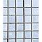 Mosaïque gris clair 30 x 30 cm Metalo Id