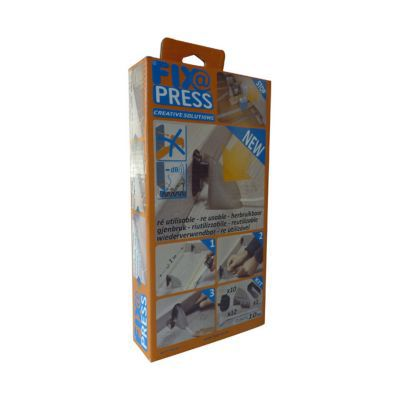 kit de serrage pour plinthe fix press castorama. Black Bedroom Furniture Sets. Home Design Ideas