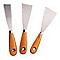 3 couteaux de peintre 30/50/70 mm