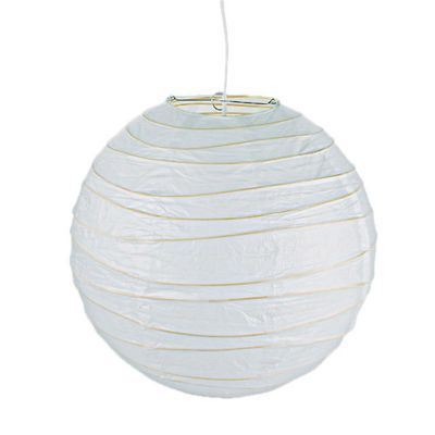 Suspension boule chinoise blanc Ø40 cm