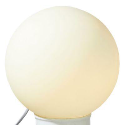 Lampe à poser colours epur petite modèle blanc