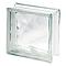Pavé de verre Nuage incolore 19 x 19 cm, ép.80 mm