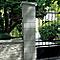 Element de pilier 38 x 38 cm gris