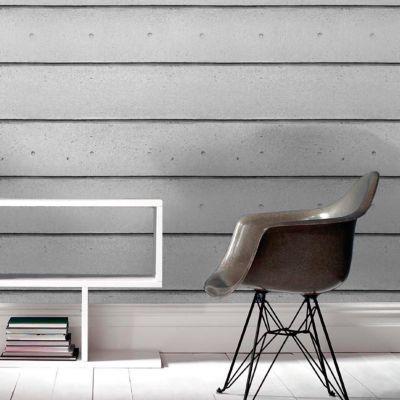Papier peint vinyle sur intissé Béton Line gris