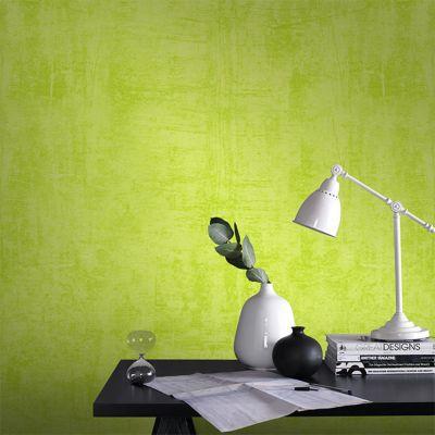 Papier peint vinyle expansé sur intissé COLOURS Graffiti vert pop
