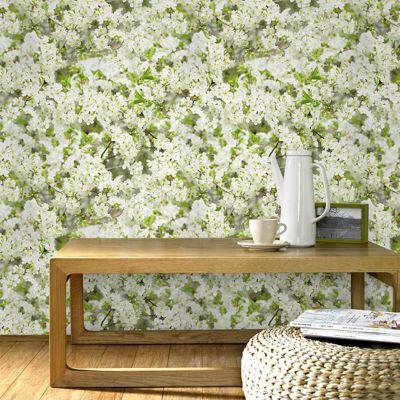 papier peint papier sur papier superfresco duplex fleur. Black Bedroom Furniture Sets. Home Design Ideas
