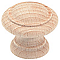Bouton meuble hêtre brut Laris Ø30 mm