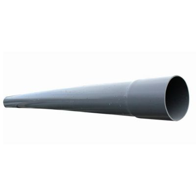 Tuyau pvc compact 160 mm l 4 m castorama for Tube pvc 100 diametre interieur