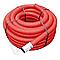 Gaine pour réseaux enterrés rouge Ø 63 mm x 15 m