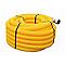 Gaine pour réseaux enterrés jaune Ø 63 mm x 25 m
