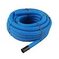 Gaine pour réseaux enterrés bleue Ø 40 mm x 15 m