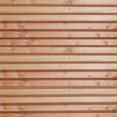 clin pour bardage claire voie douglas naturel l 2 45 m castorama. Black Bedroom Furniture Sets. Home Design Ideas