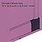 Embout sabot gauche pour plinthe CELIANE Déco blanc 82 x 12,5mm Legrand
