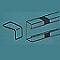 Joints de couvercle/goulotte, pour goulotte Mosaic 80 x 50mm LEGRAND