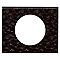 Plaque de finition simple LEGRAND Céliane matière cuir pixels