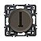 Mécanisme de prise téléphone LEGRAND Céliane graphite